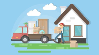 A man moving house and learning how to downsize his stuff