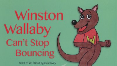Cover of Winston Wallaby Can't Stop Bouncing