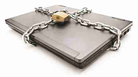 chained laptop changing bad habits