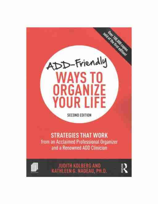 add friendly ways to organize life