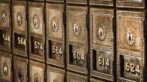 safes at a bank represent the need to understand a partner's inner life