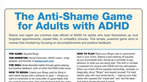 Adhd Behind Behavior >> The Anti Shame Game For Adults With Adhd Positivity And Rewards