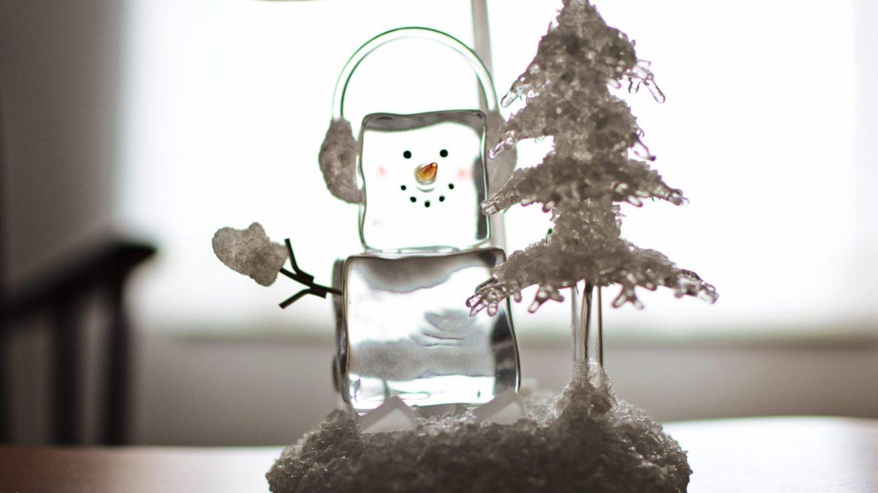 Prevent Christmas meltdowns - snowman ornament