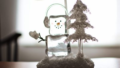 Prevent Christmas meltdowns - snowman ornament