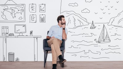 Daydreaming Man