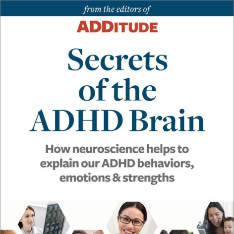 Secrets of the ADHD Brain cover