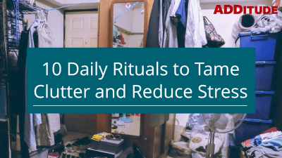 10 Clutter Solutions That Reduce Stress for Adults with ADHD