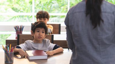 A preschool student with ADHD feels shame after learning that his teacher doesn't like him