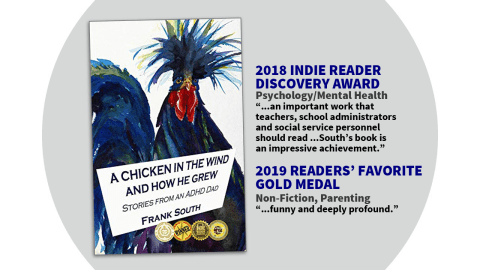 A Chicken In the Wind book for ADHD adults