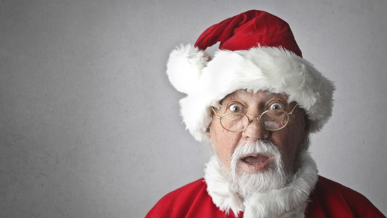 Santa shocked about his naughty and nice list
