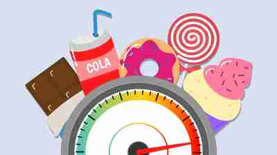 ADHD-Diabetes-Link-HighSugar-Foods-Illustration