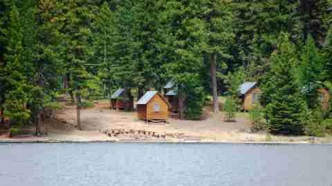 Summer camp grounds
