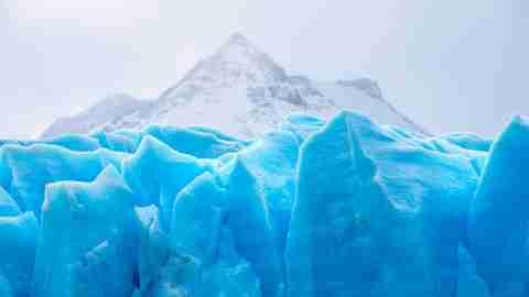 Iceberg representing ADHD
