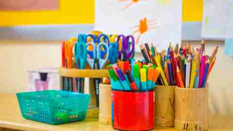 how to homeschool - school supplies at home