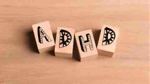 Attention deficit hyperactivity disorder bricks