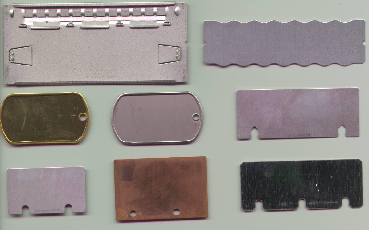 Addressograph Supplies Imprinter Embosser Supplies