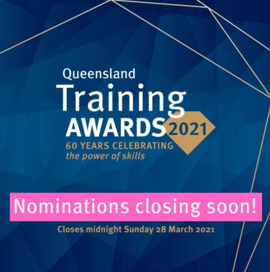 Add Staff Apprenticeships Queensland Training Awards