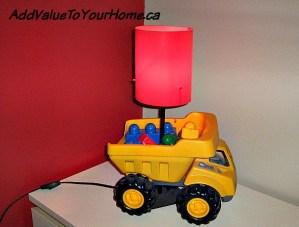 How to Make A Dump Truck Light!