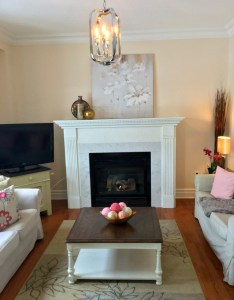 How to Update a Dated Fireplace Makeover