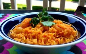 Prawns Pulao (Shrimp Rice)