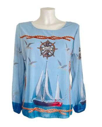 marine blouse Addy van den Krommenacker