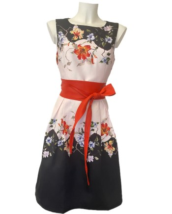 mikado flower dress