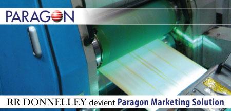 RR Donnelley devient Paragon Marketing Solution.