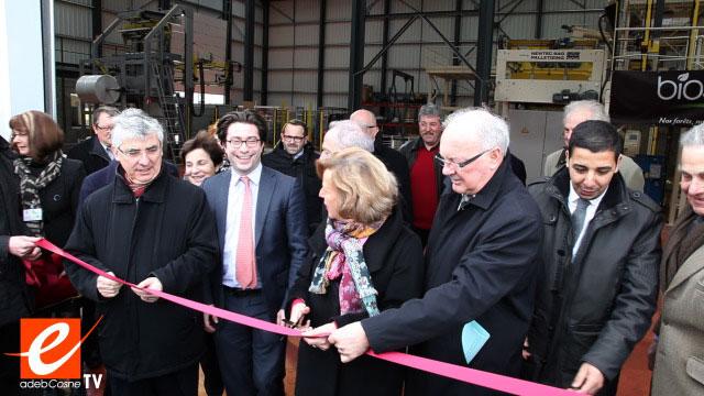 Inauguration usine Biosyl