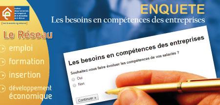 Une enquête en ligne pour connaître les besoins en compétences des entreprises
