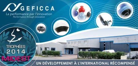 GEFICCA primée au MIDEST pour son développement international.