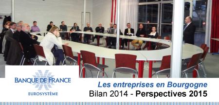 Entreprises bourguignonnes : bilan 2014 et perspectives 2015