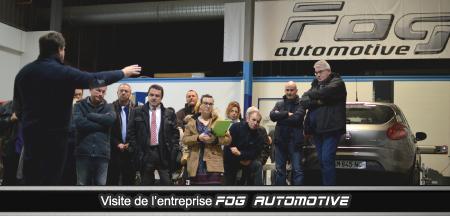 Le Club des Dirigeants en visite chez FOG AUTOMOTIVE.