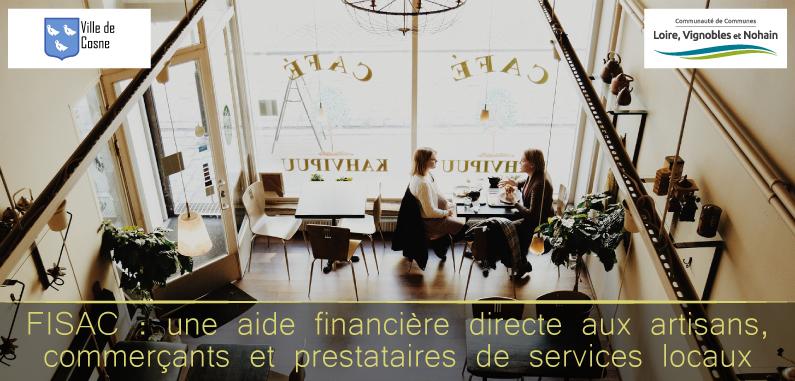 FISAC : une aide financière directe aux artisans, commerçants et prestataires de services locaux
