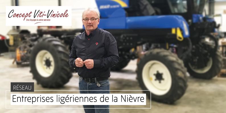CONCEPT VITI-VINICOLE : spécialiste des équipements de la vigne et du vin