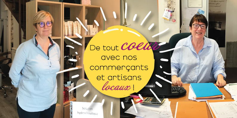 Commerçants et artisans locaux : à la rencontre de Sophie Renaud et Brigitte Jeanjirard !