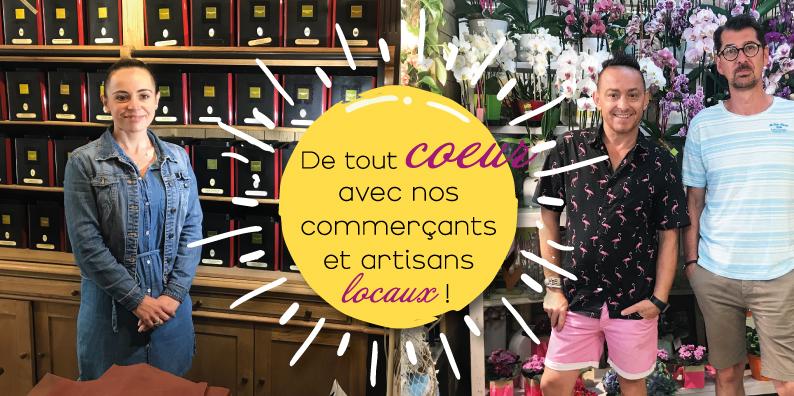 Commerçants et artisans locaux : à la rencontre d'Alexie Bailly et Arnaud Ducroux !