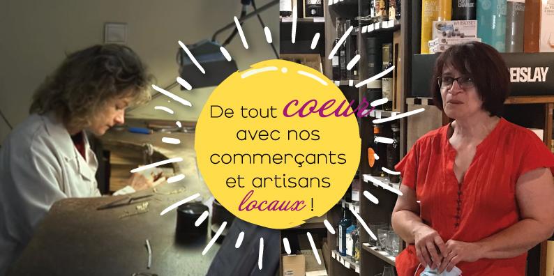 Commerçants et artisans locaux : à la rencontre de Nadège Dembsky et Christine Hamon !