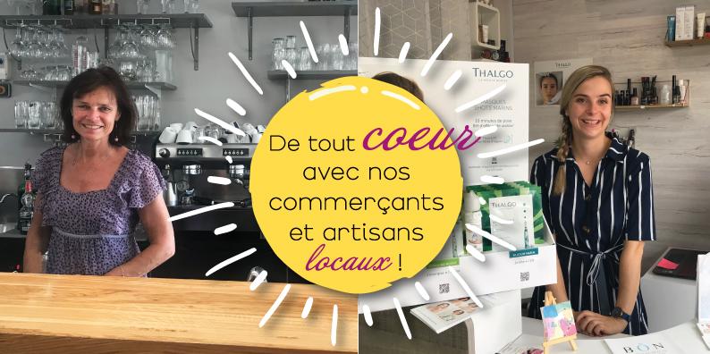 Commerçants et artisans locaux : à la rencontre de Laurence Millet et Jennyfer Hevin !
