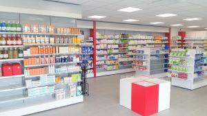 Aménagement d'une pharmacie par Adeco Breizh à Bresson
