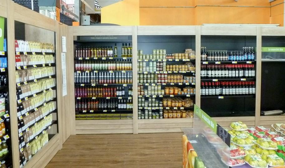 Rayon bio centre commercial Finistère