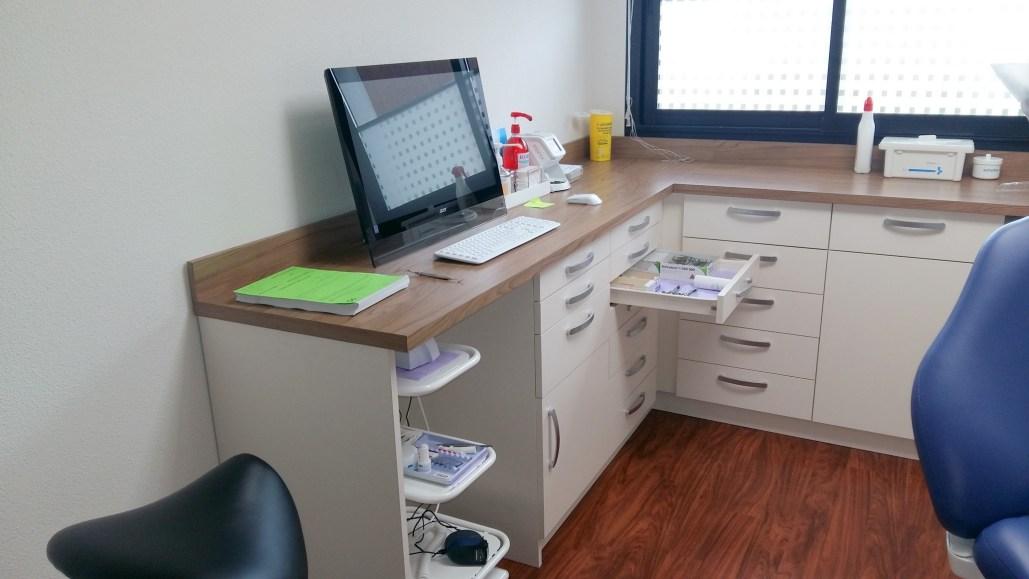 Agencement d'un cabinet dentaire à Arradon