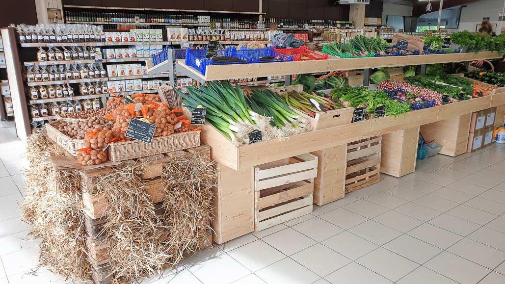 Magasin bio Nantes légumes