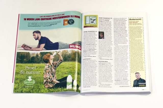 Humo Magazine: Double Page 6