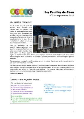 N°75 – septembre 2019