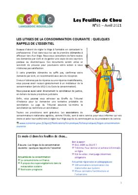 N°93 – avril 2021
