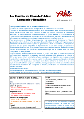 N°10 – septembre 2013