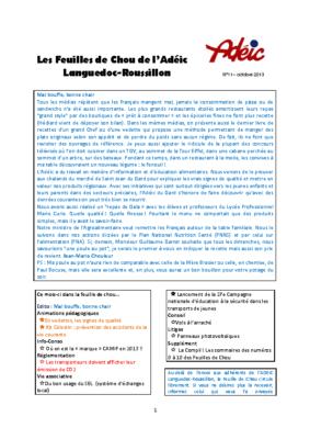 N°11 – octobre 2013