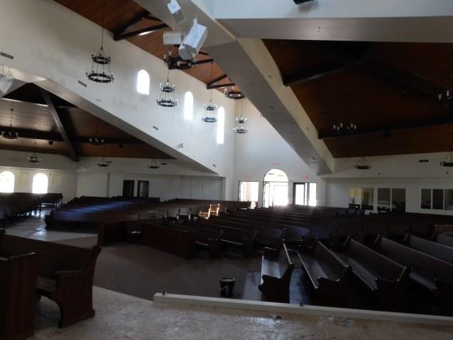 Sanctuary Finish Installs, Holy Rosary Catholic Church - Hilmar, CA