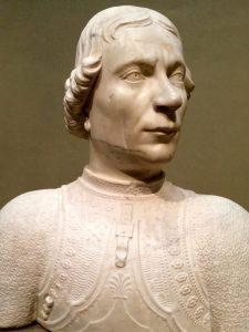 Marble Bust, Florence Renaissance,