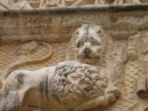 Lion Relief, Palace of the Infantado